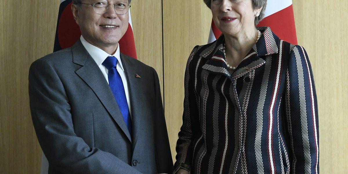 South Korea, Britain in talks about future trade talks