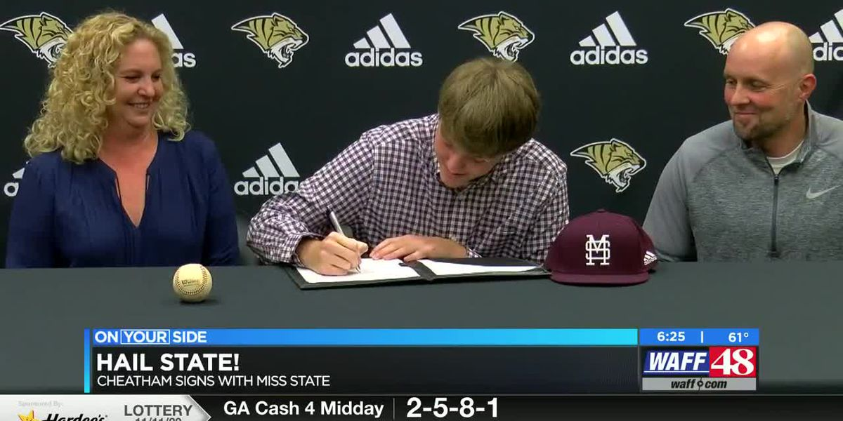 Ardmore Baseball player signs with Mississippi state