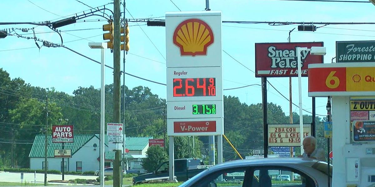 Alabamians not seeing much relief at the gas pump
