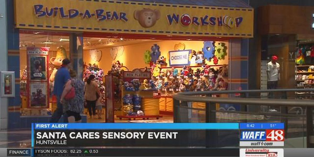 Santa Cares Sensory for event for children with disabilities