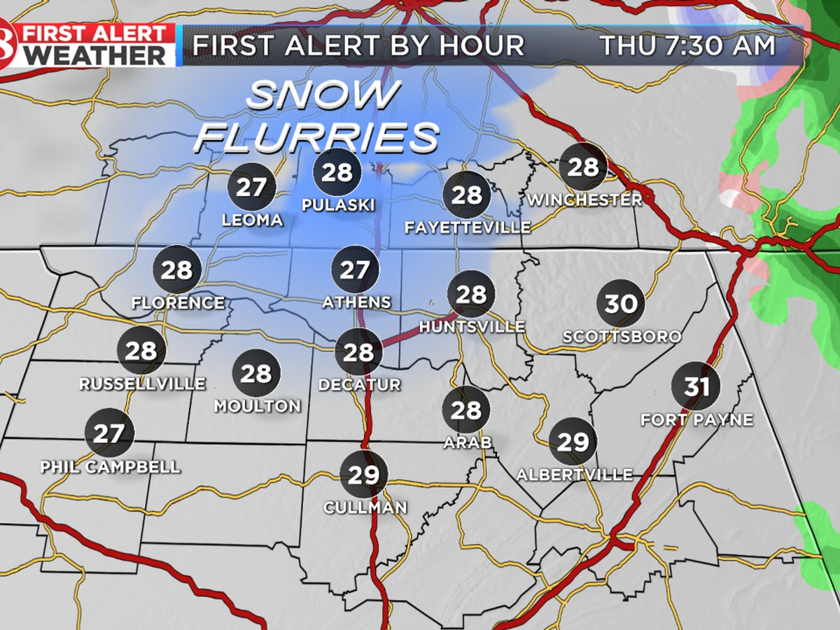 Freezing drizzle possible overnight