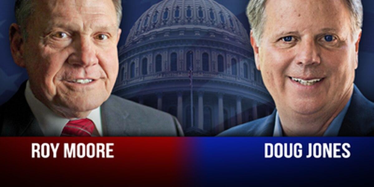 EXCLUSIVE: Roy Moore's lead over Doug Jones increases in new poll