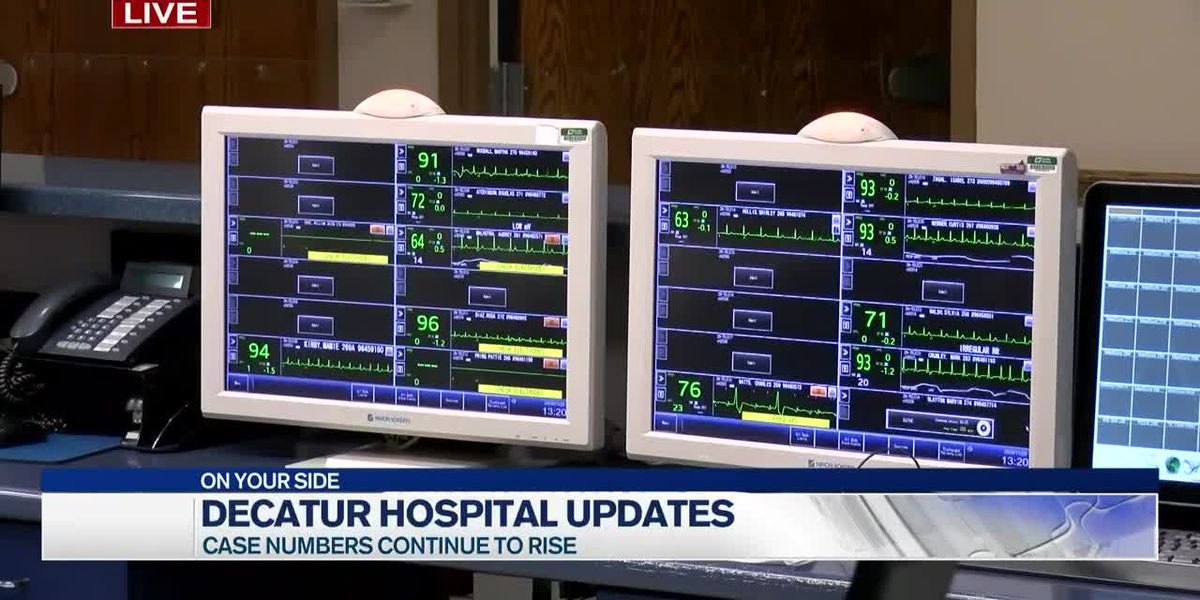 Updates from Decatur hospital as numbers continue to rise