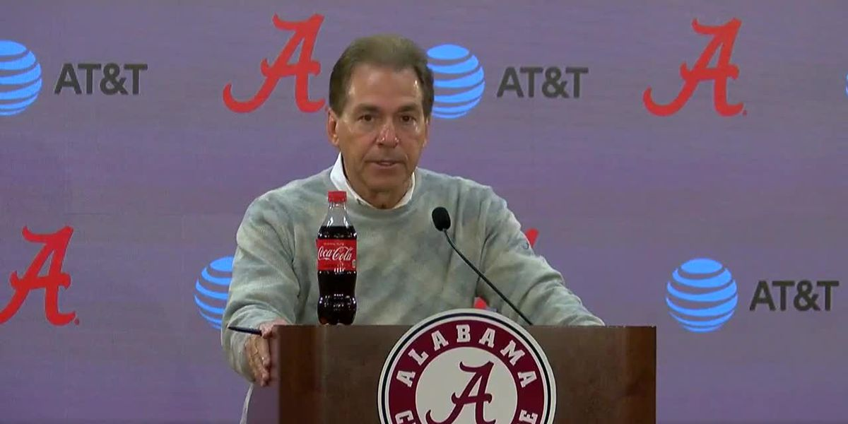 Saban comments ahead of The Citadel game this weekend