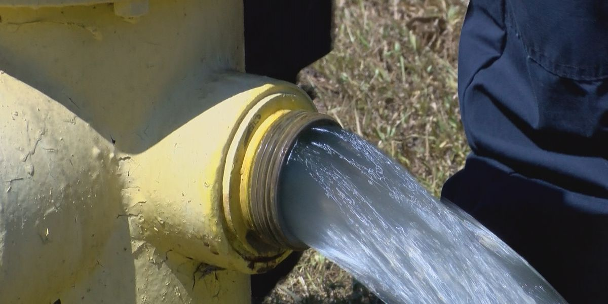 Annual fire hydrant testing starts in the city of Florence