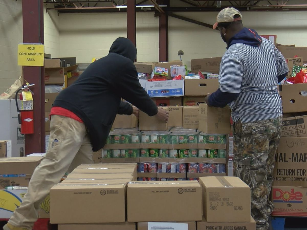 North Alabama Food Bank stocked up for shutdown-related demand, for now