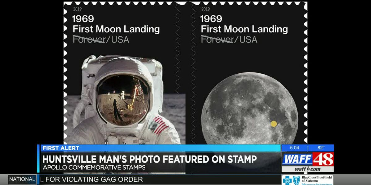 Madison man's moon photo featured on new postage stamp