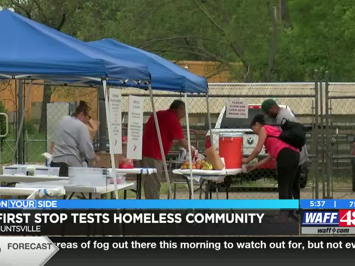 First Stop tests homeless community in Huntsville