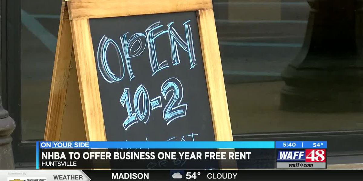 NHBA offering a business free rent for one year