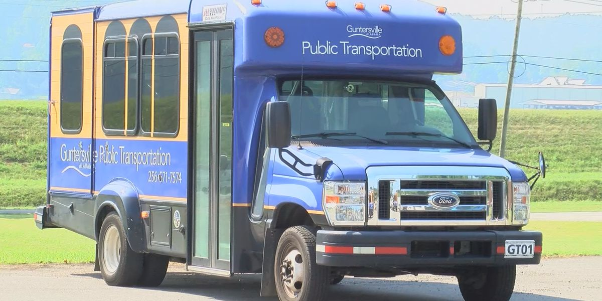 Even with safety measures, fewer people using Guntersville buses