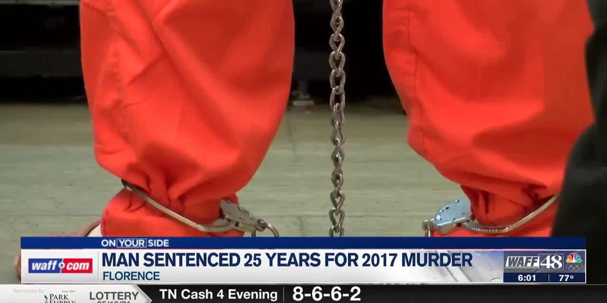Florence man convicted of 2017 murder will serve 25 years