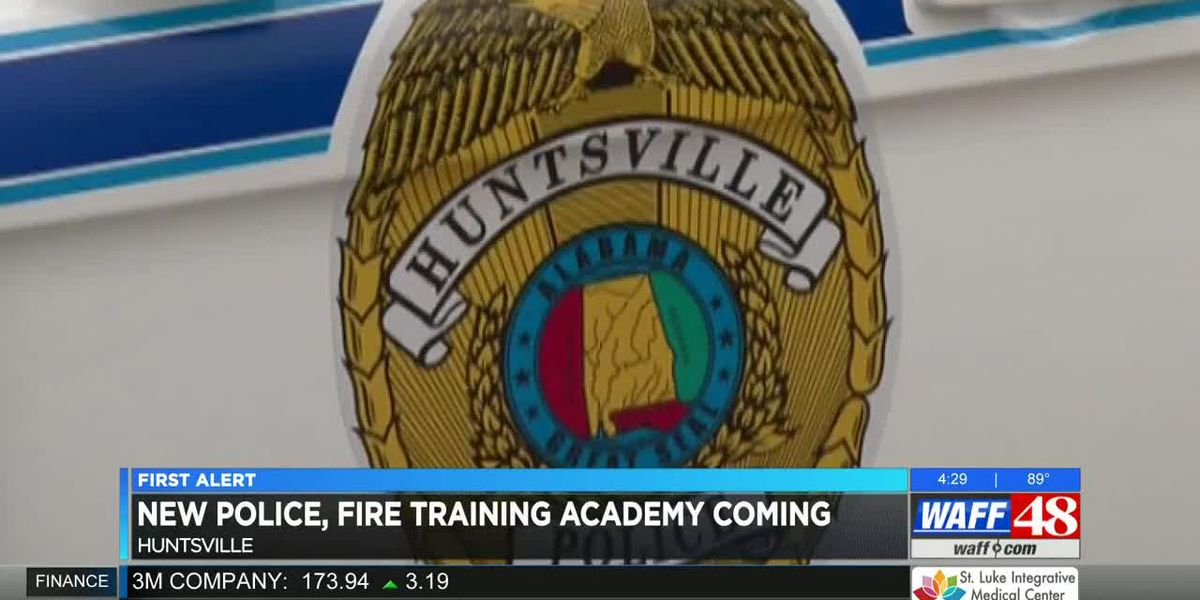 New Huntsville police, fire training academy to open late 2020