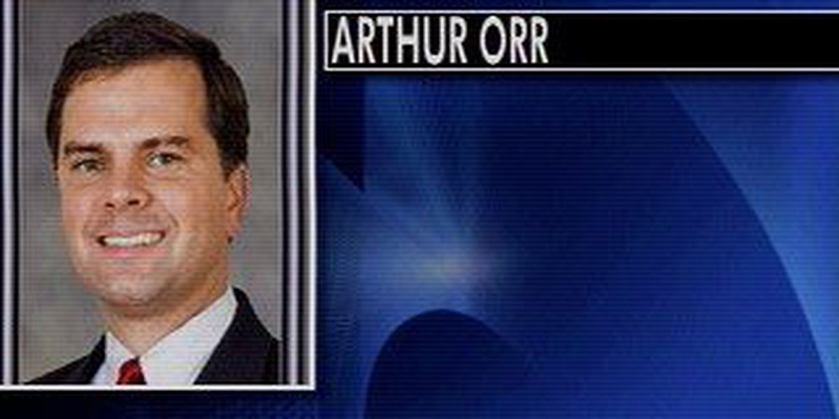 Arthur Orr donates money to local charities