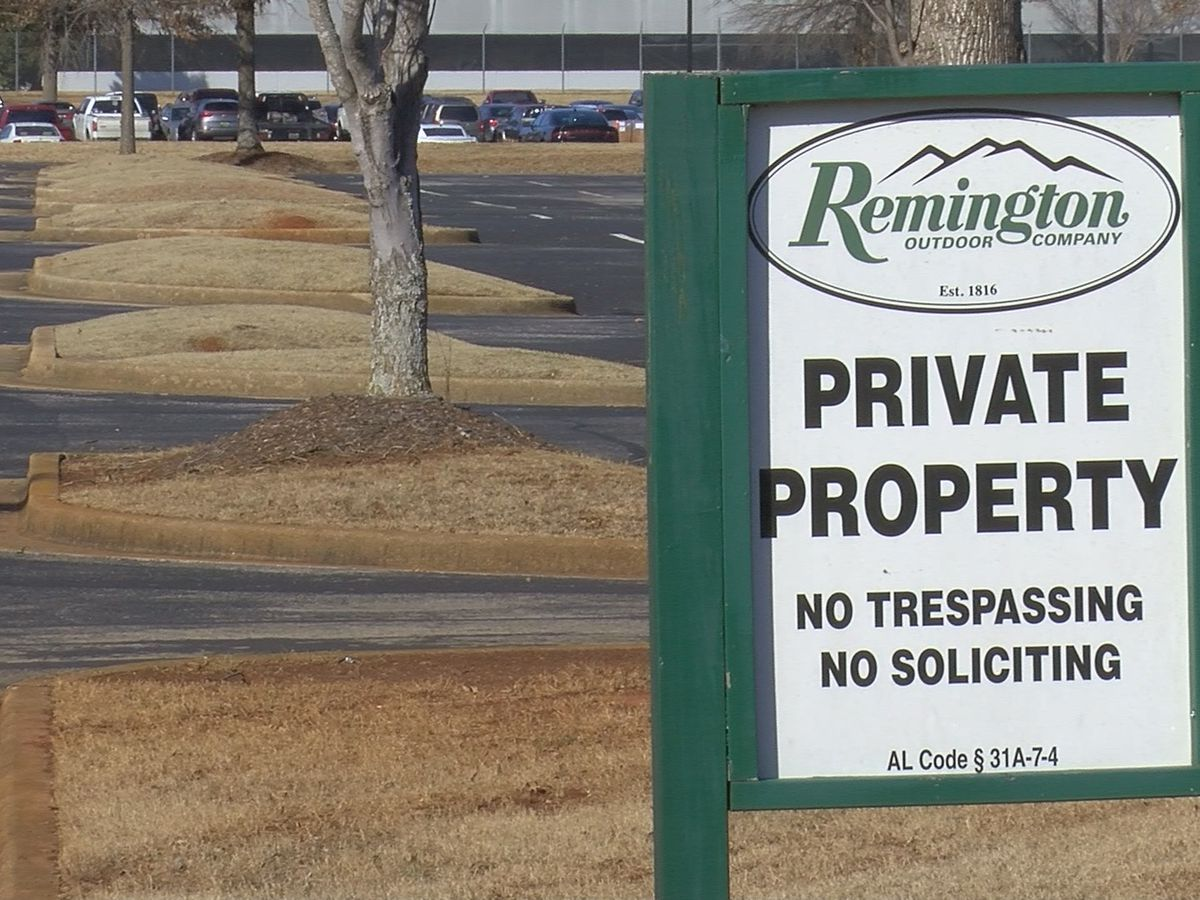 Huntsville Mayor reacts to Remington's Bankruptcy Auction