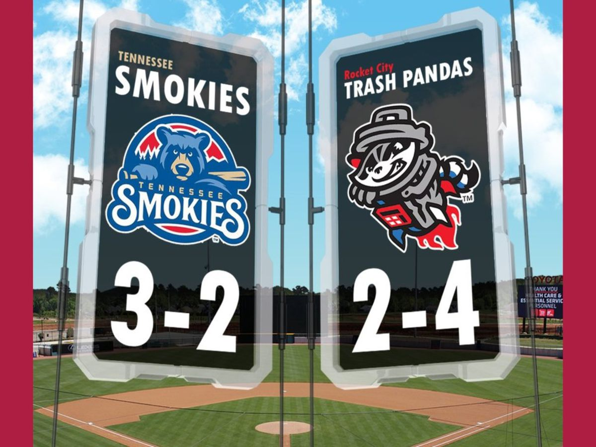 GAME PREVIEW: Rocket City Trash Pandas VS Tennessee Smokies