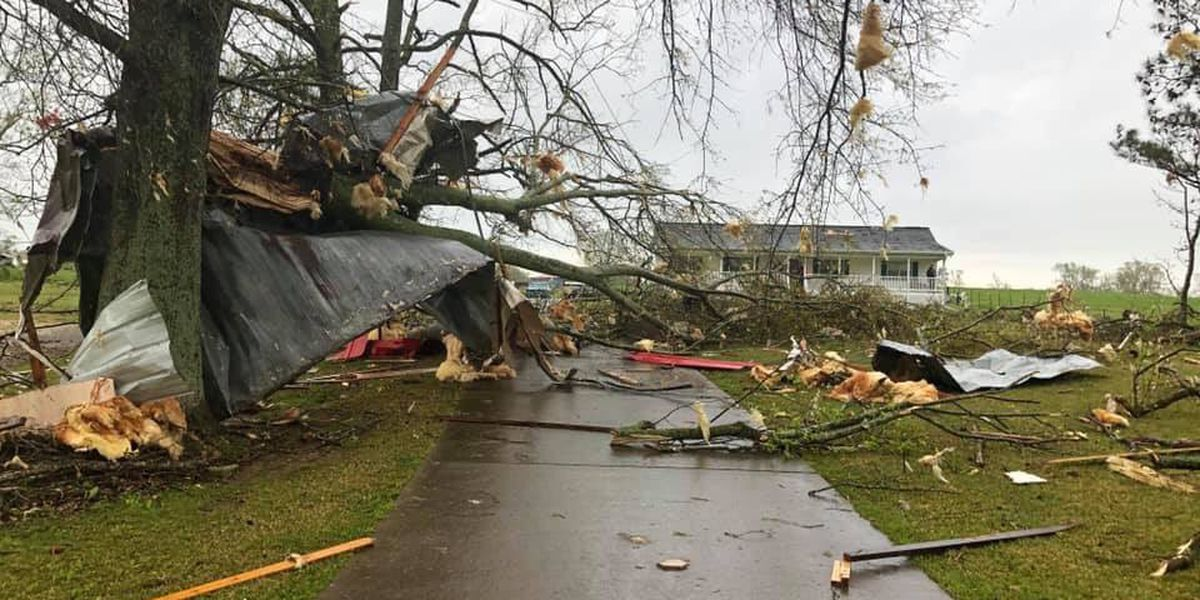 EF1 tornado touches down in Marshall County