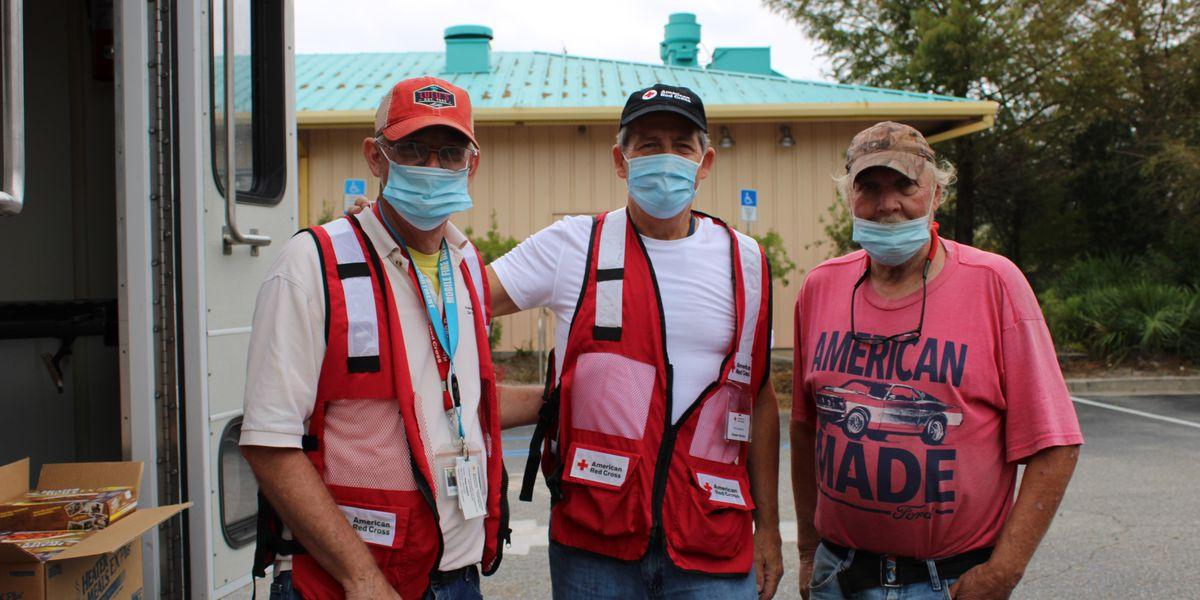 Red Cross volunteers return from Sally, prepare for Hurricane Delta