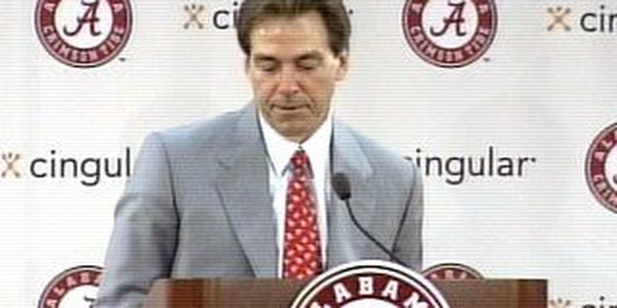 Saban embraces 'Bama's high expectations