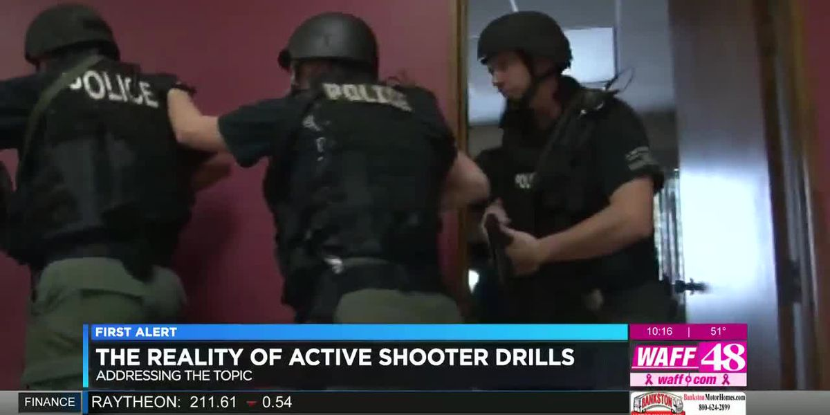 How school officials handle active shooter training with students