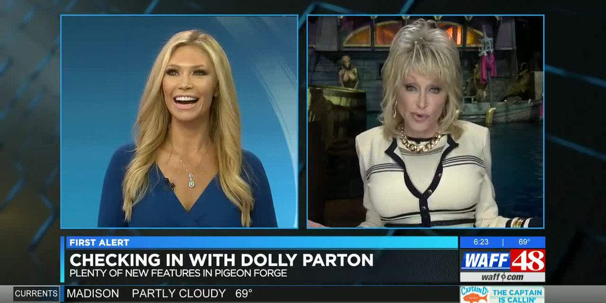 Dolly Parton on what's new in Pigeon Forge