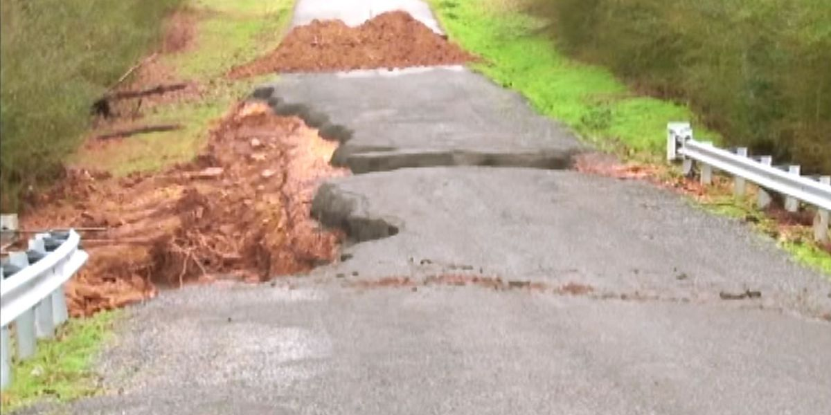 Roads In Marshall Co. still need repair after Christmas Day flooding
