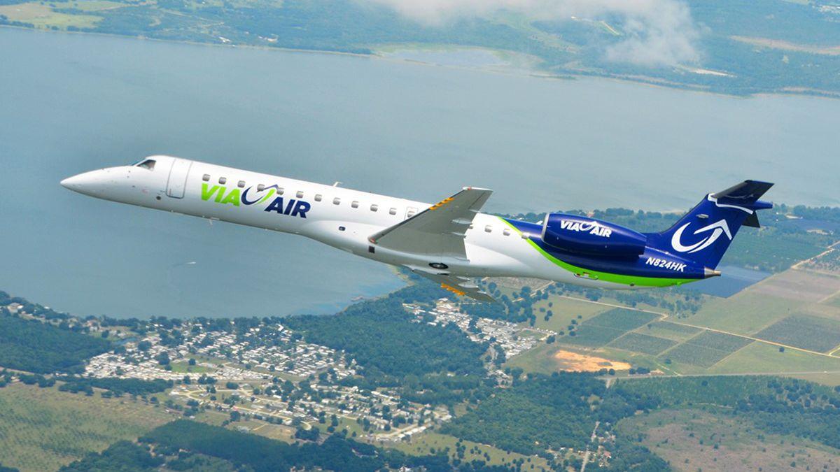 Via Airlines ending commercial flights in Birmingham