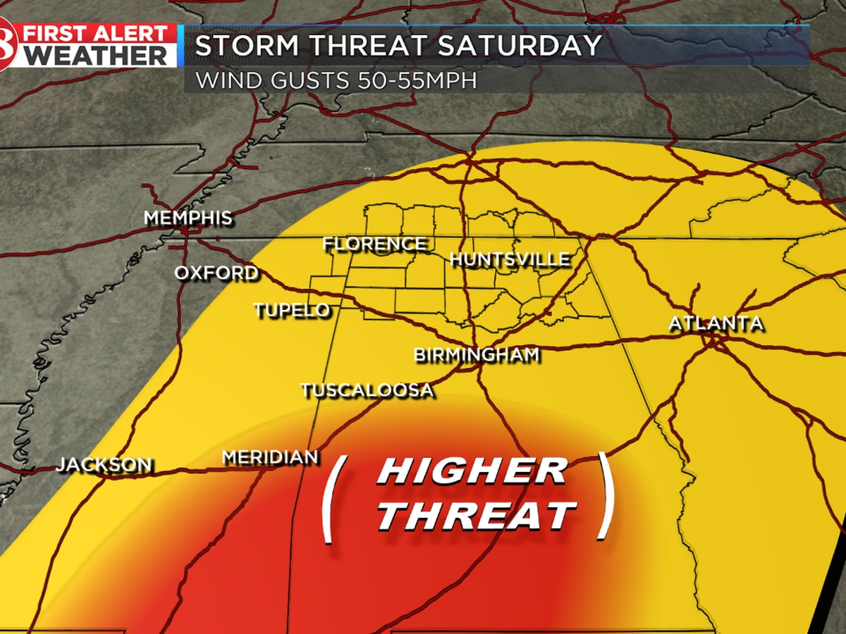 Storm threat this weekend followed by snow chances