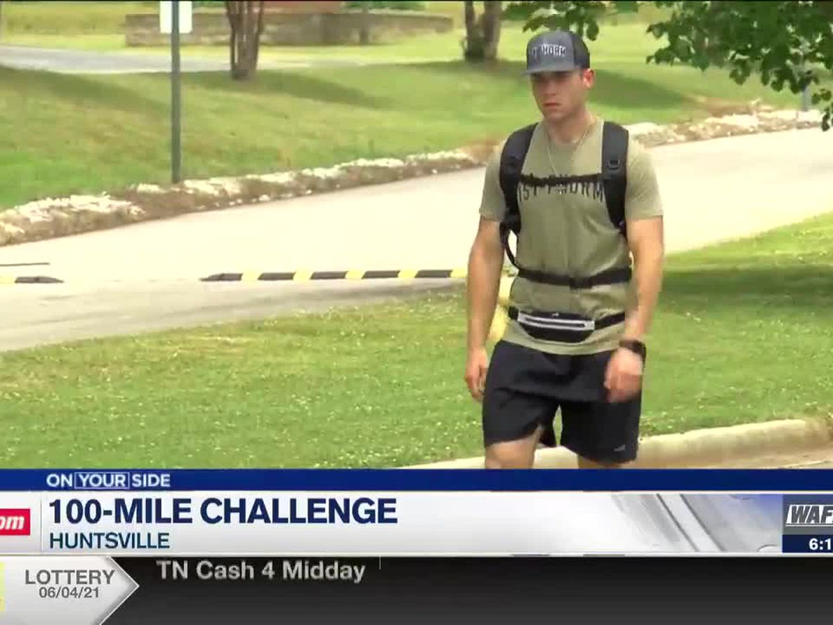 Huntsville man walking 100 miles to raise awareness of children living with disease