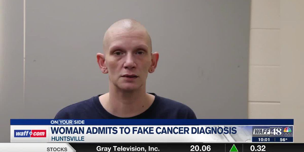 Woman admits to faking cancer diagnosis