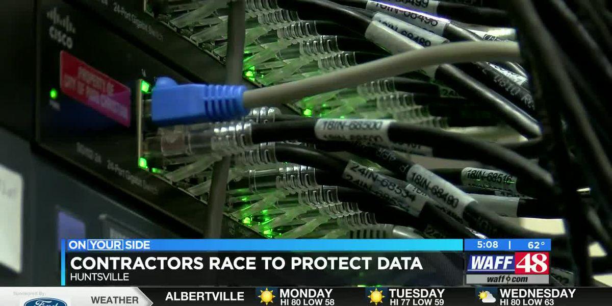Huntsville contractors race to protect data
