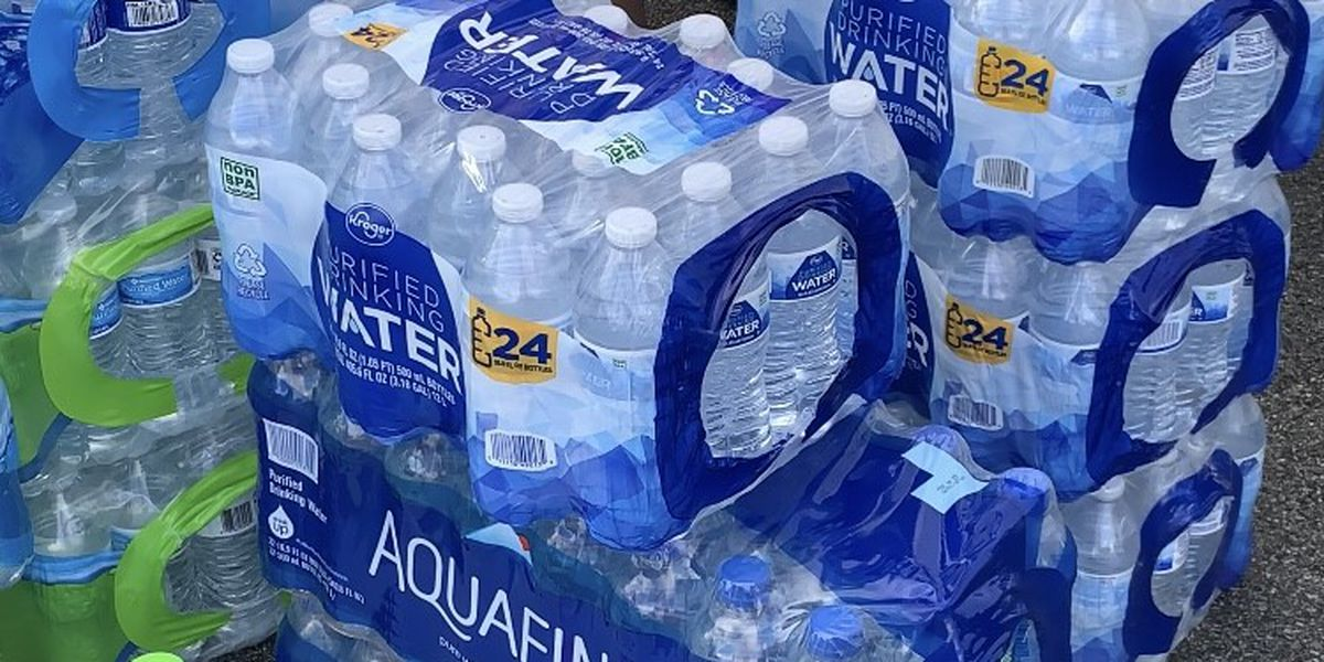 Oakwood University Church collecting bottled water for Jackson, Mississippi residents on Friday