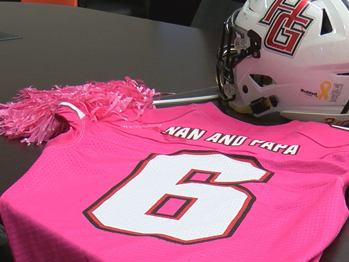 Hazel Green hosts pink football game to honor cancer fighters