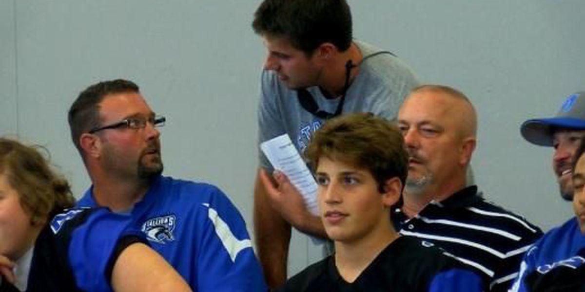 Marshall Christian School hosts final 6-man football game of season