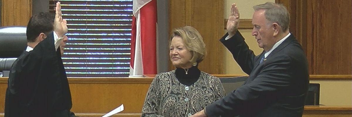 Alabama state senator sworn in twice, representing Madison, Limestone counties