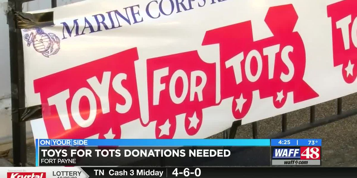 Toys for Tots in Fort Payne is still in need of donations