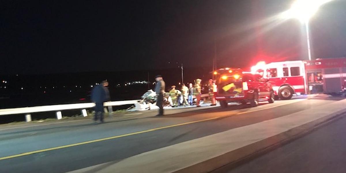 One dead, one injured in Guntersville wreck