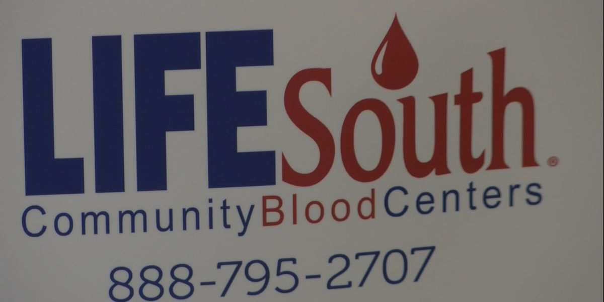 LifeSouth blood drives happening New Year's Day