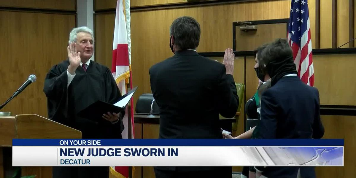 Kevin Kusta sworn in as new Morgan County District Judge