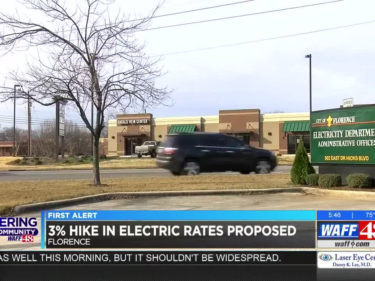 Florence electric department proposes hike in rates