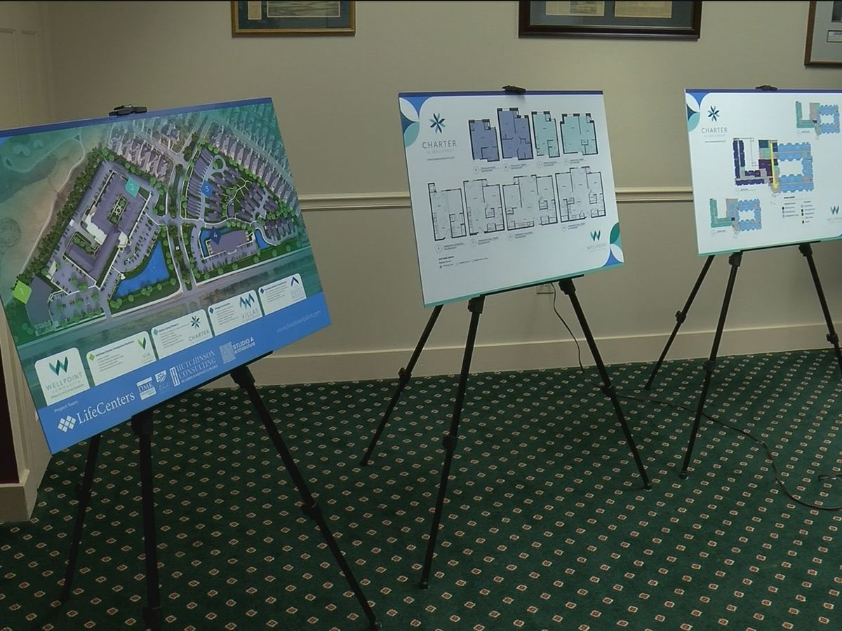 New senior living center coming to Hampton Cove