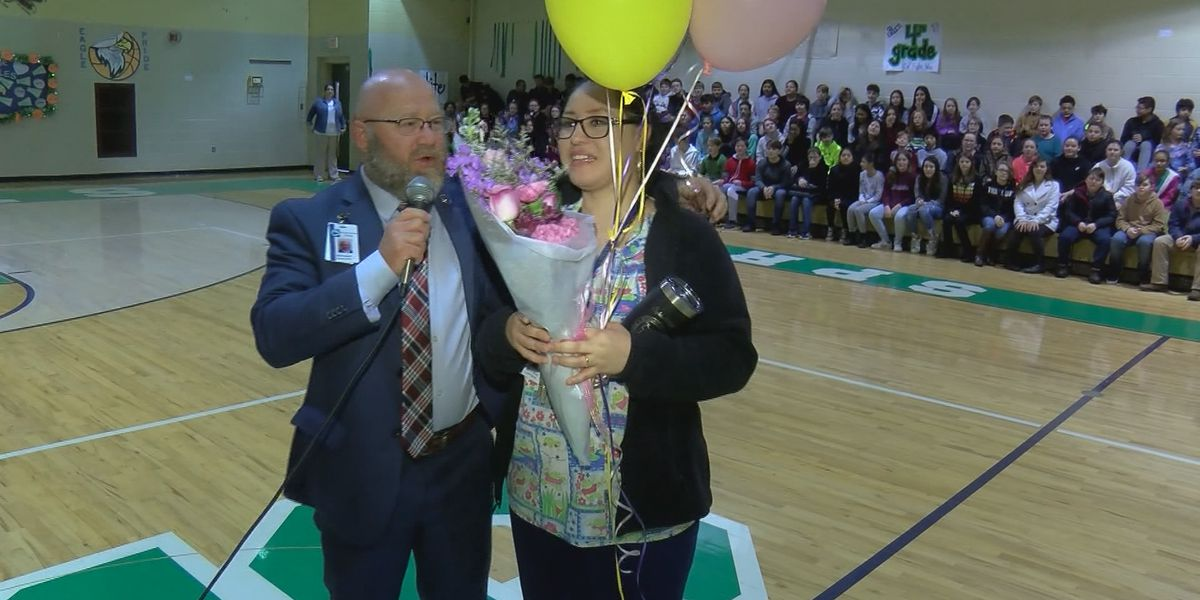 New citizen named support person of the year for Morgan County Schools