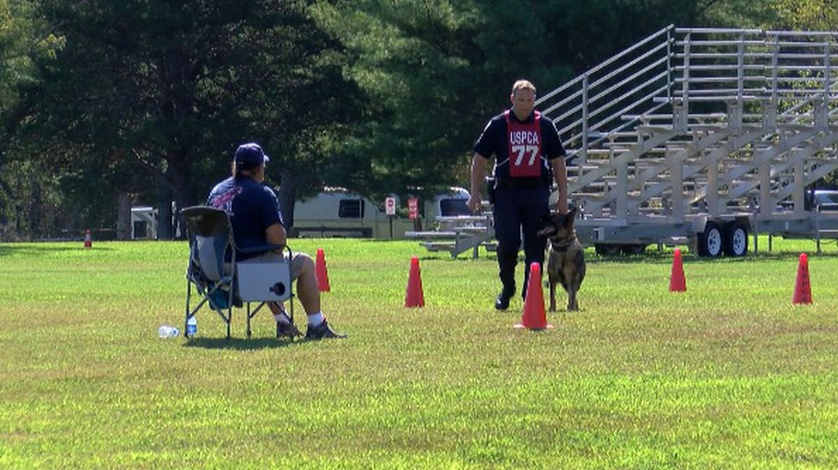 'Best-of-the-best' K-9 teams from across US test skills in the Rocket City - WAFF 1