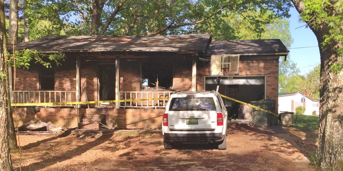 Athens firefighters rescue grandmother from burning home