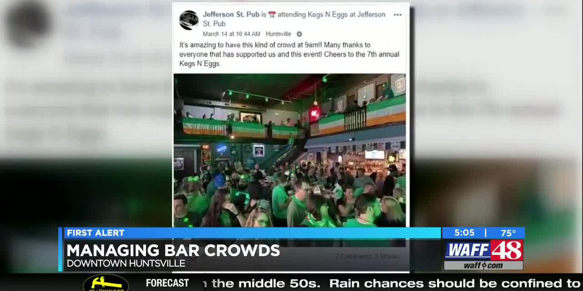 Madison County leader stressing health recommendations after crowded weekend bar scene