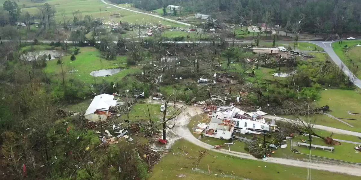 National Weather Service: Reports show EF-3 tornado damage in Ala.