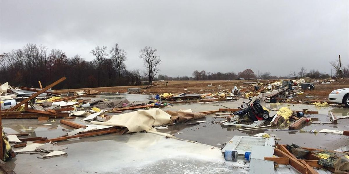 Governor Bentley to survey tornado damage across state