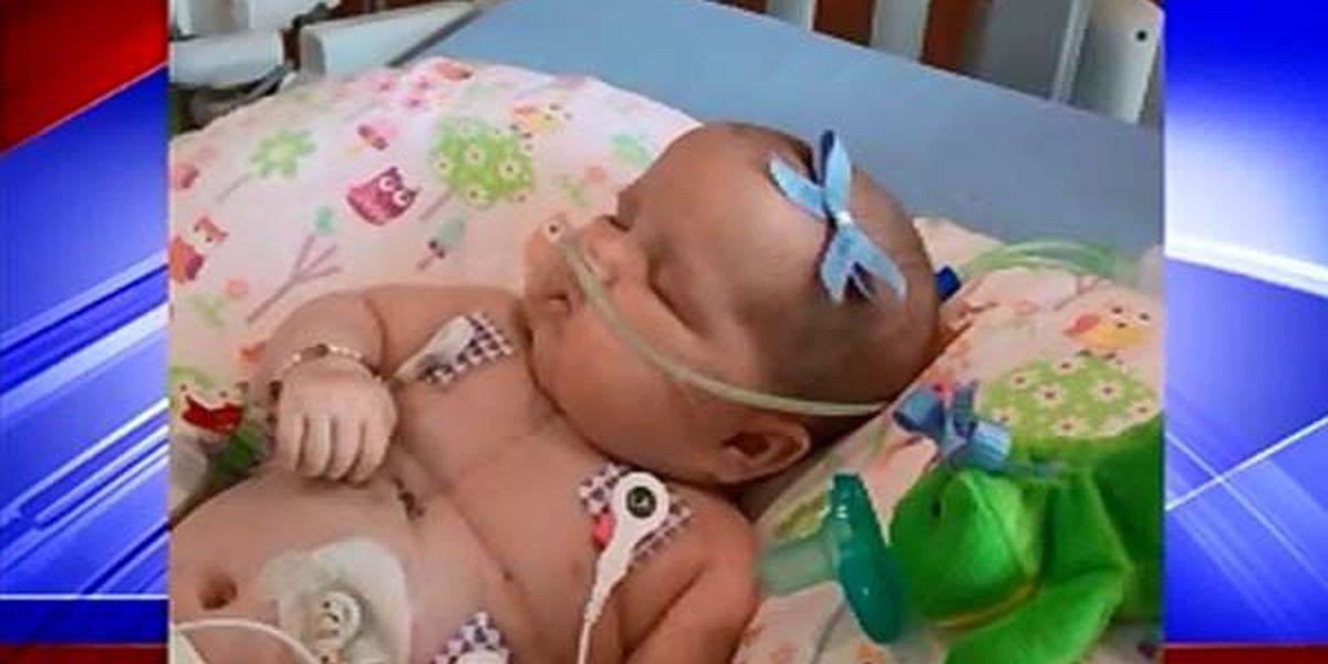 Madison baby and her family wait on much-needed heart transplant