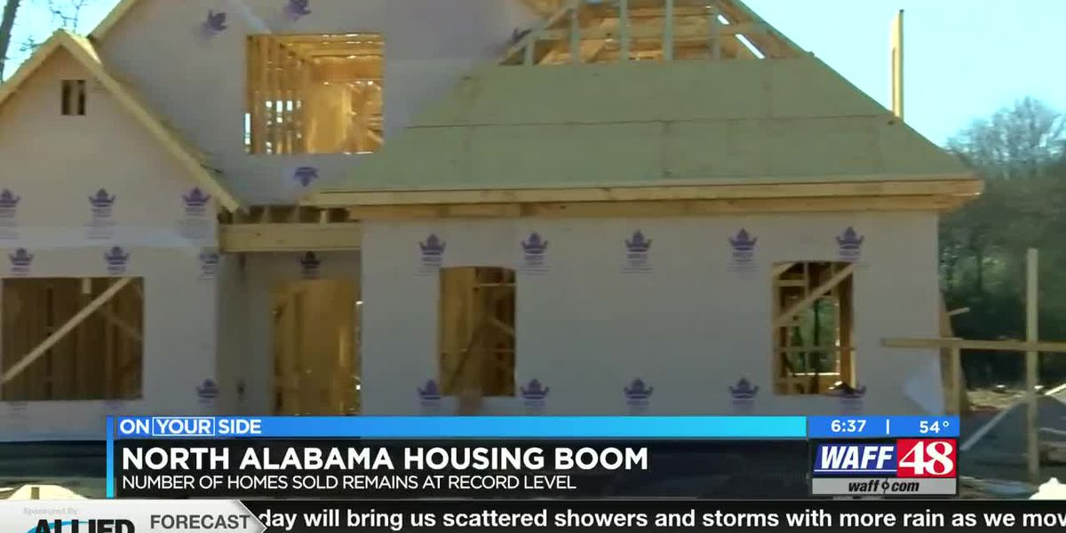 The latest on the North Alabama housing boom