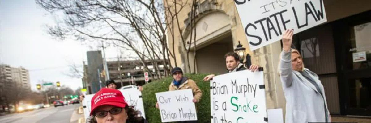 Protestors want Florence City Council restrictions changed