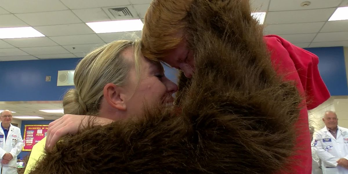 Chaffee Elementary School student gets special surprise